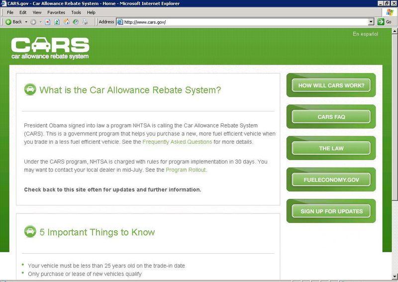 CARSwebsite