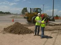 Watch video from CBS4 Denver: Road building company benefits from stimulus funds