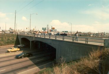 Alameda Avenue bridge, opened in 1958
