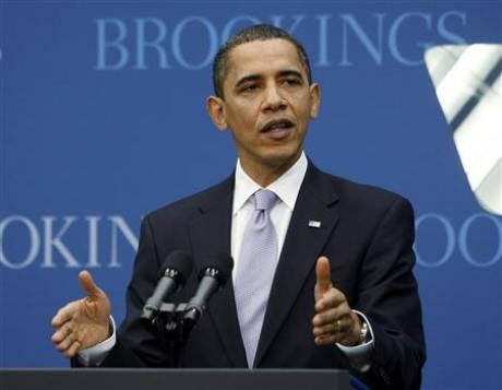 President Obama at Brookings