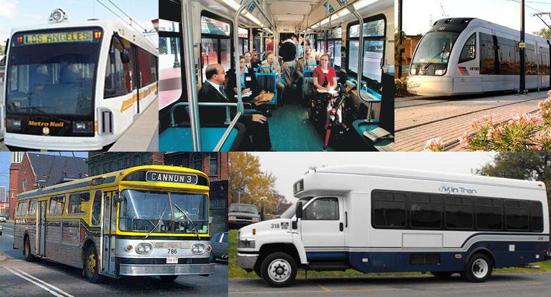 Many types of transit