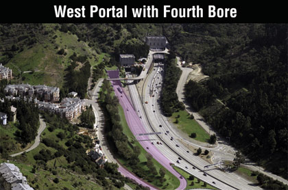 West Portal with Bore 4