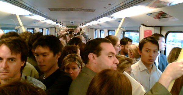 Crowded-train