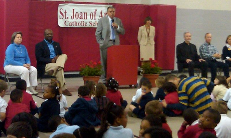 At St Joan of Arc School