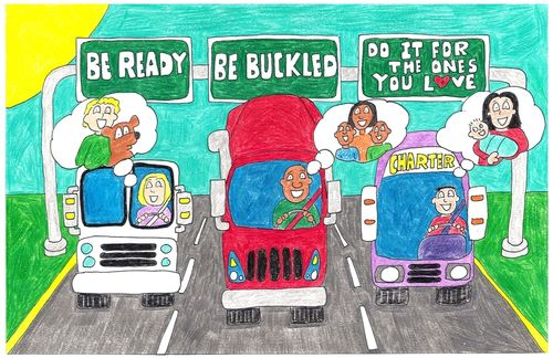 2010 Safety Belt Poster Contest 1