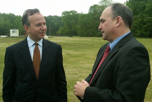 Del Gov Markell with Greg Nadeau