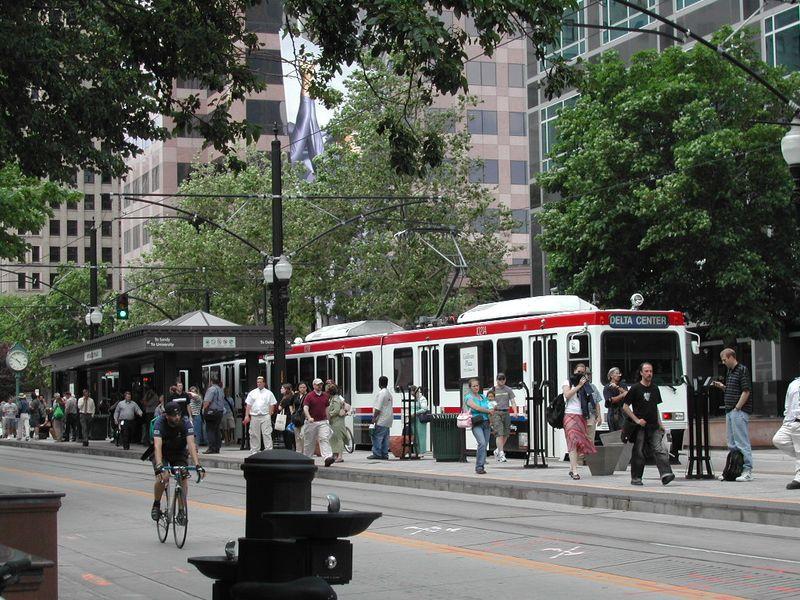 Salt Lake City trax