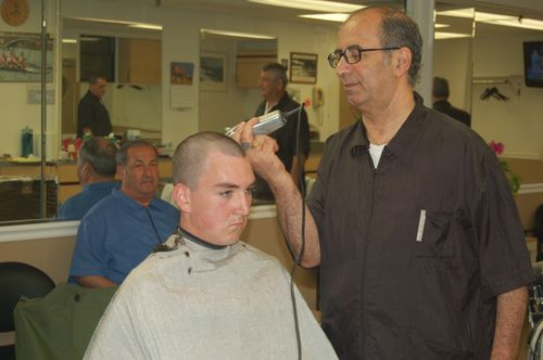 For most candidates Indoc starts with a haircut