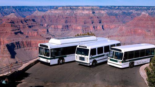 Grand Canyon buses
