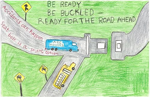 2010 Safety Belt Poster Contest 2