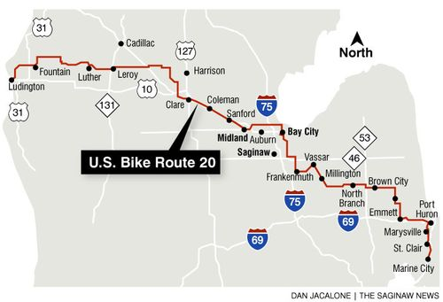 US Bicycle Route System Begins Connecting America Welcome To The - Us bicycle route system map