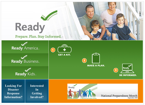 Visit ready-dot-gov to learn more