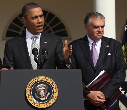 President and Secretary LaHood