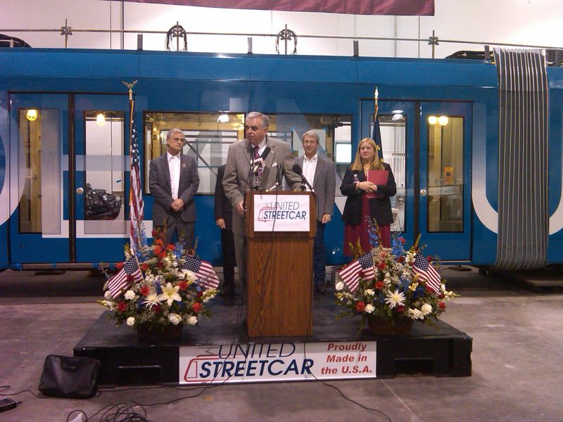 Speaking at United Streetcar