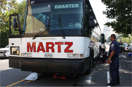 Motor coach safety enforcement actions produce results