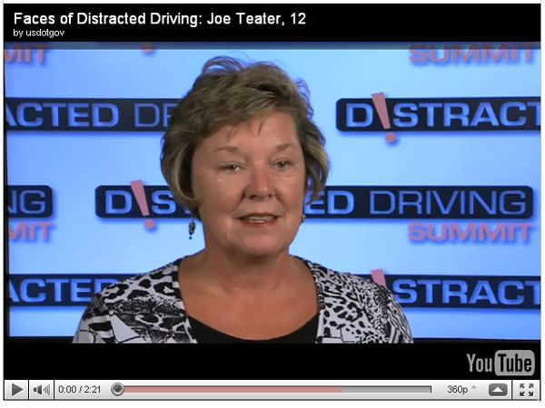 Watch: Faces of Distracted Driving - Joe Teater