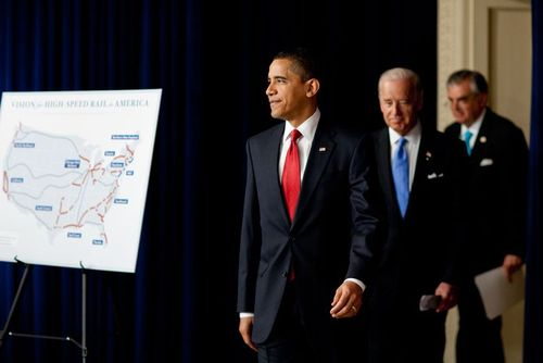 With President Obama and Vice President Biden