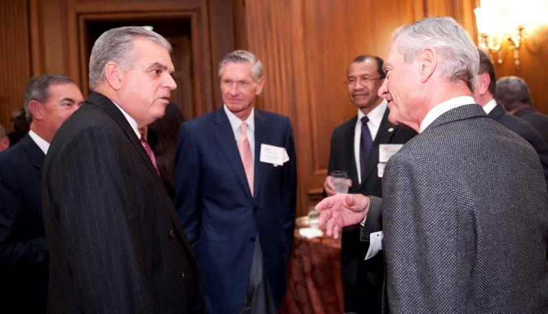 With AAA Board members