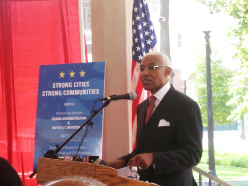 Mayor Wharton remarks