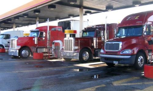 TrucksRefueling