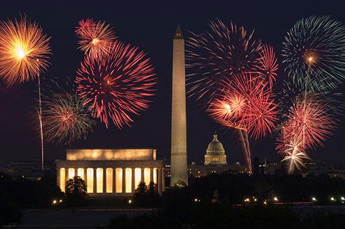 Capital-fireworks