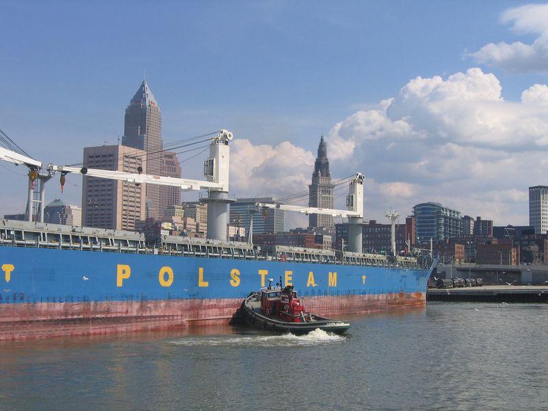 Cleveland port
