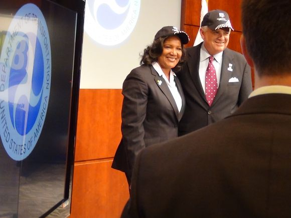 PHMSA Administrator Cynthia Quarterman and USDOT Secretary Ray LaHood
