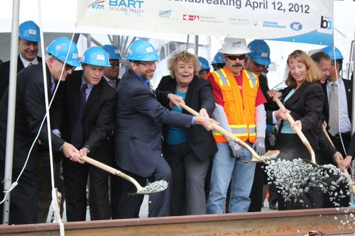 BART Extension Ground Broken