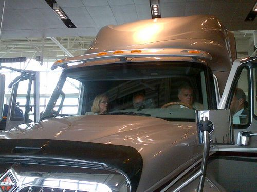 At Navistar with FMCSA Administrator Anne Ferro