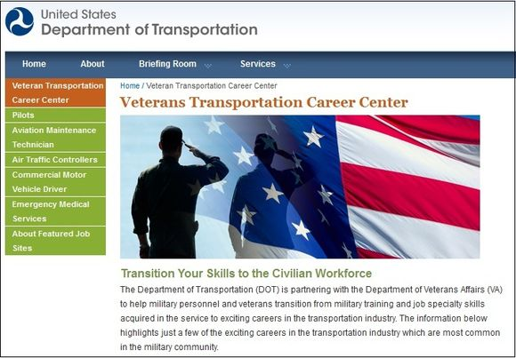 Veterans Transportation Career Center