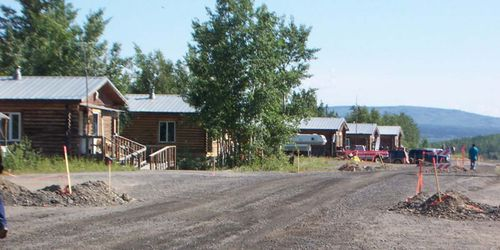Tribal road work