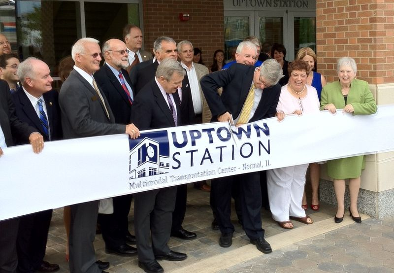 Ribbon Cutting at Uptown Station