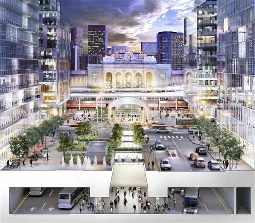 Denver union station rendering