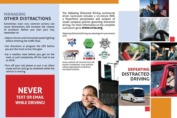 CVSA on Distracted Driving