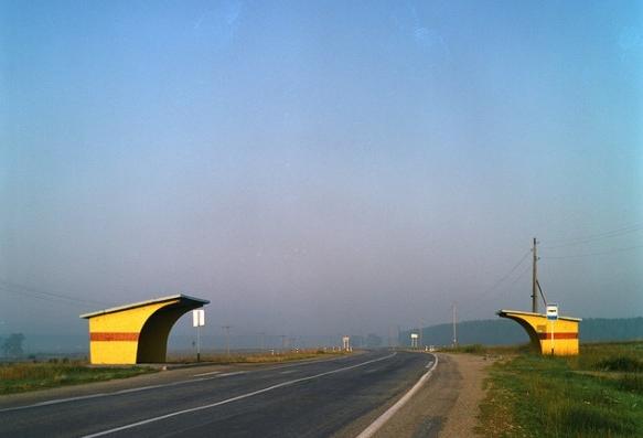 Rural bus stops
