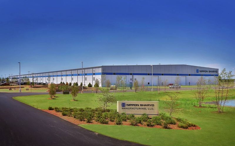 Nippon Sharyo production facility in Rochelle, Illinois