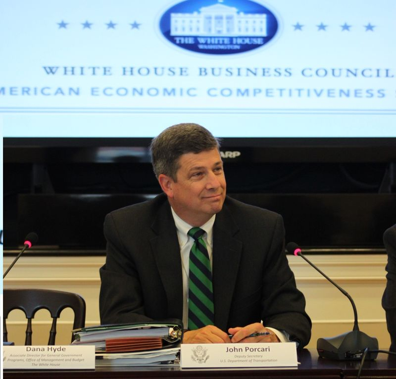 Deputy Secretary Porcari at White House