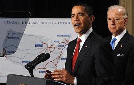 President Obama talks High Speed Rail
