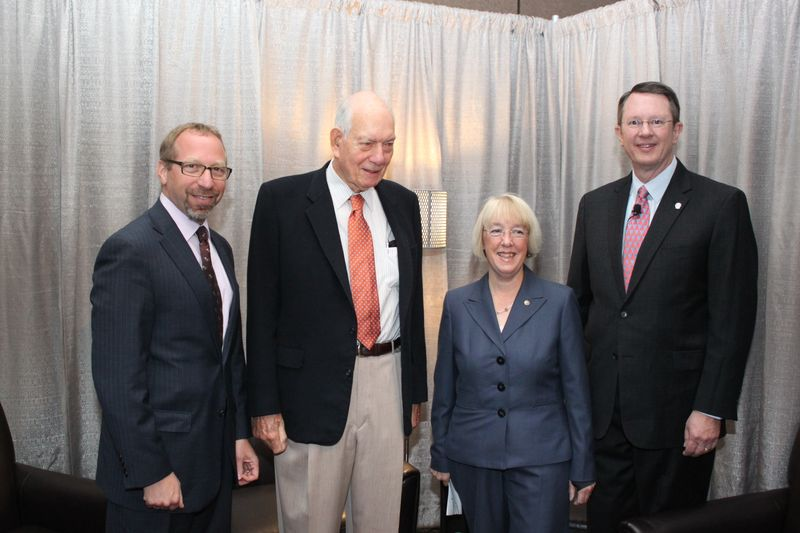 With Sec. Boyd, Senator Patty Murray, APTA Chair Gary Thomas