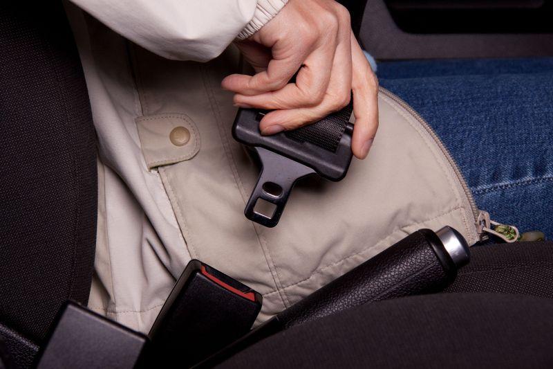Buckling Seat Belt