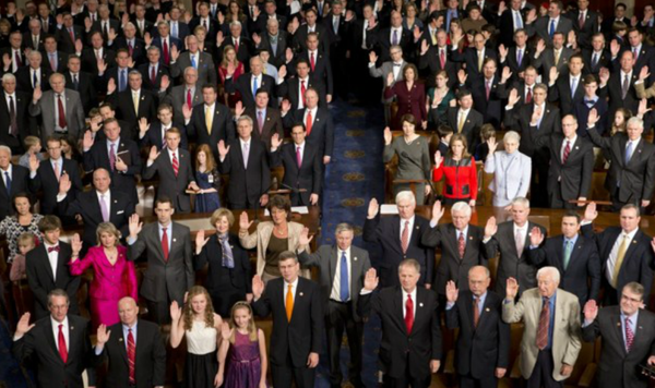 113th House Members take the oath