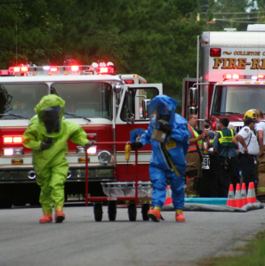 Emergency responders_hazmat transportation incident