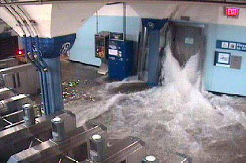 NJTransit flooding