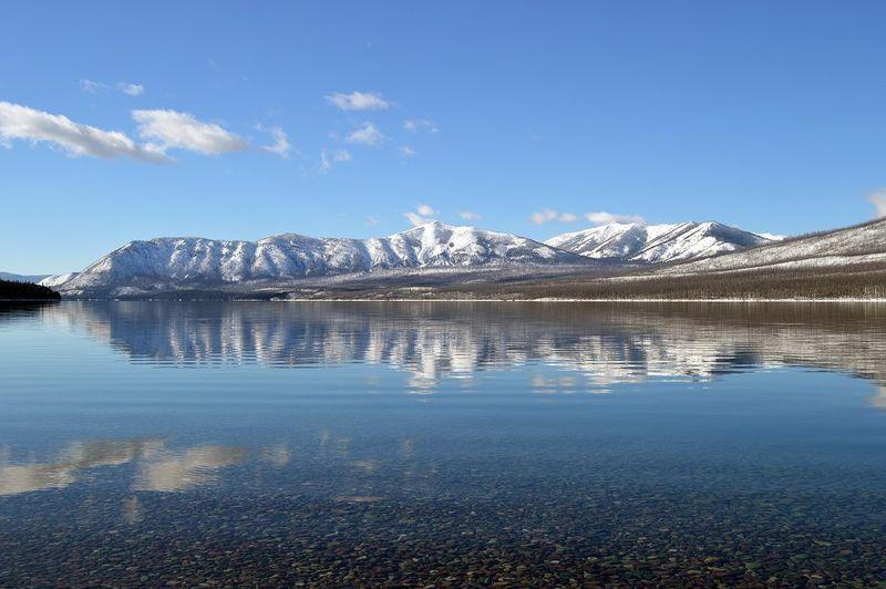 Apgar Range in Glacier