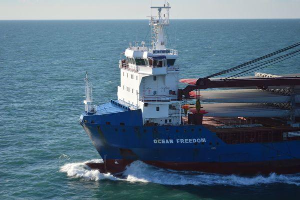 Ocean Fredom at sea
