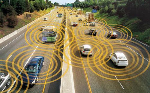 Image of vehicle-to-vehicle technology