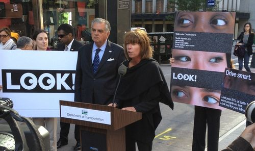 With NYC DOT Commissioner Janette Sadik-Khan