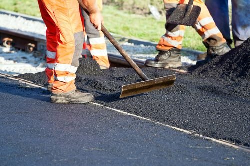 Road Construction Up Close