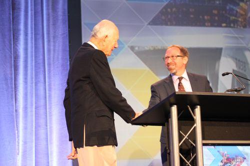 FTA Administrator Rogoff introduces first US Transportation Secretary Alan Boyd