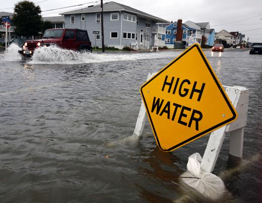 High Water in Ocean City, MD